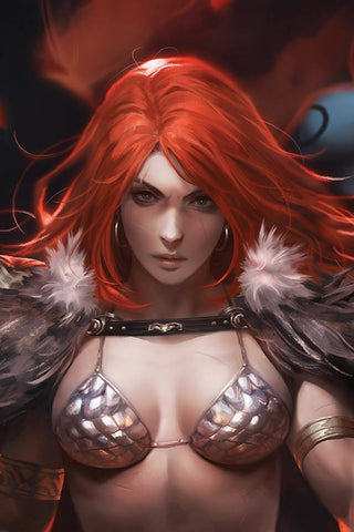RED SONJA AGE OF CHAOS #1 DERRICK CHEW SNEAK PEEK VIRGIN INCV