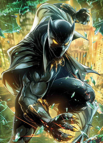 BLACK PANTHER #5 JONG-JU KIM MARVEL BATTLE LINES VAR