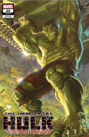 IMMORTAL HULK #20 ALEX ROSS EXCLUSIVE
