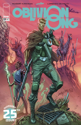 OBLIVION SONG BY KIRKMAN & DE FELICI #25 CVR E J SCOTTCAMPBELL