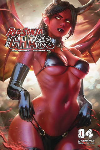 RED SONJA AGE OF CHAOS #4 CVR D DERRICK CHEW