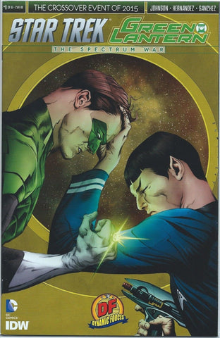 STAR TREK GREEN LANTERN # 1 ( OF 6 ) JAE LEE DF EXCLUSIVE