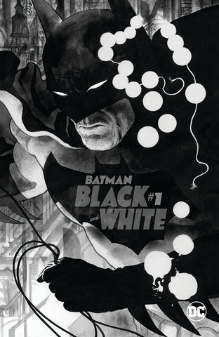 BATMAN BLACK AND WHITE #1 (OF 6) CVR B JH WILLIAMS III VAR
