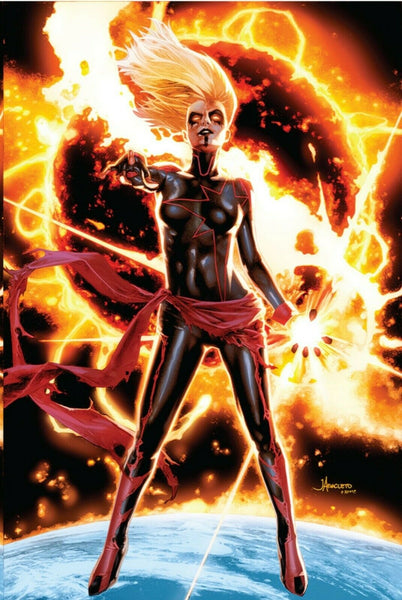 CAPTAIN MARVEL #12 JAY ANACLETO VIRGIN EXCLUSIVE