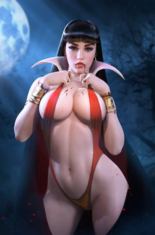 SACRED SIX #1 KIRILL REPIN VAMPIRELLA VIRGIN EXCLUSIVE