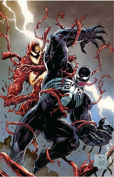 VENOM #20 UNKNOWN COMICS TONY DANIEL VIRGIN EXCLUSIVE