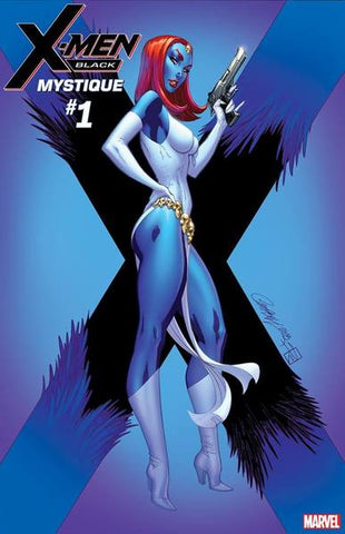 X-MEN BLACK MYSTIQUE #1 J SCOTT CAMPBELL