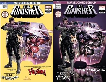 PUNISHER #1 CLAYTON CRAIN HOMAGE 2 PACK EXCLUSIVE
