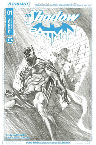 SHADOW BATMAN #1 CVR M 50 COPY ROSS INCV