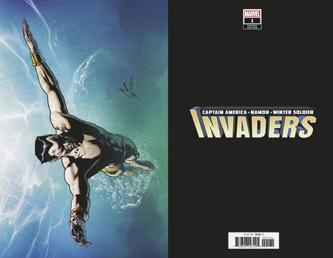 INVADERS #1 QUESADA VIRGIN VAR