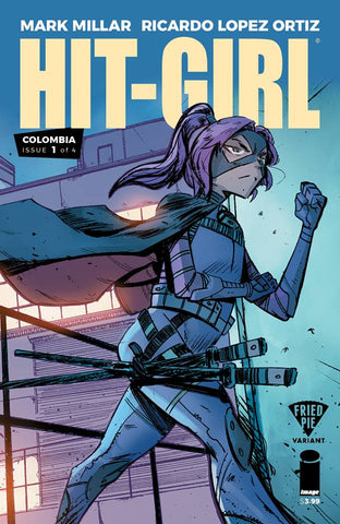 HIT-GIRL #1 FRIED PIE EXCLUSIVE