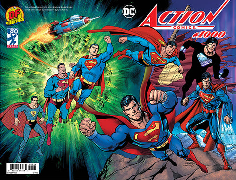 ACTION COMICS #1000 DF DAN JURGENS EXCLUSIVE
