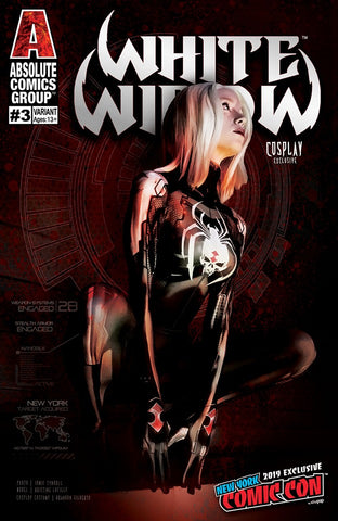 WHITE WIDOW #3 NYCC COSPLAY EXCLUSIVE