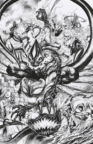 AMAZING SPIDER-MAN #798 UNKNOWN TYLER KIRKHAM B&W EXCLUSIVE