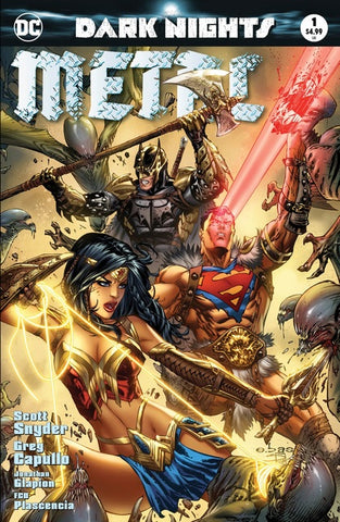 DARK NIGHTS METAL #1 (OF 6) EXCLUSIVE MOST GOOD EBAS VARIANT