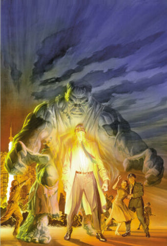 IMMORTAL HULK #20 ALEX ROSS EXCLUSIVE CVR B