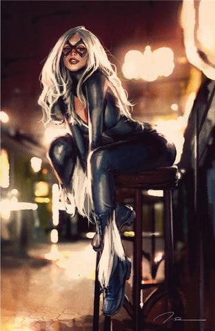 BLACK CAT #1 GERALD PAREL UNKNOWN VIRGIN EXCLUSIVE COVER
