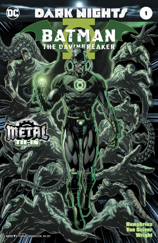BATMAN THE DAWNBREAKER #1 (METAL) FOIL STAMPED COVER