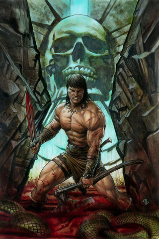 CONAN THE BARBARIAN #1 GRANOV VAR