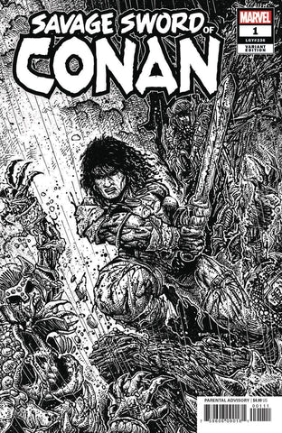 SAVAGE SWORD OF CONAN #1 EASTMAN B&W VAR