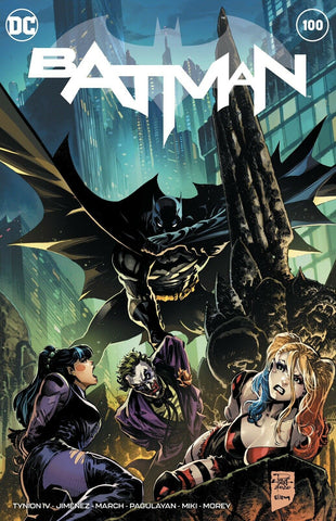 BATMAN #100 PHILIP TAN EXCLUSIVE (JOKER WAR)