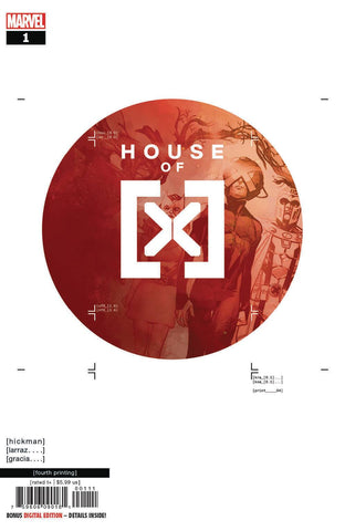 HOUSE OF X #1 (OF 6) 4TH PTG LARRAZ VAR