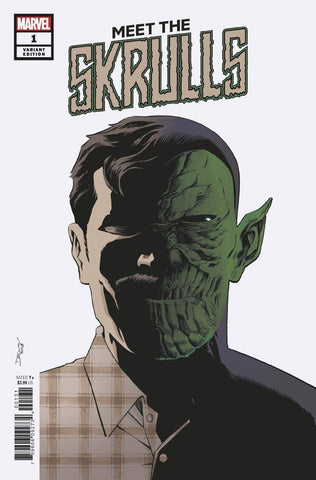 MEET THE SKRULLS #1 (OF 5) SHALVEY VAR