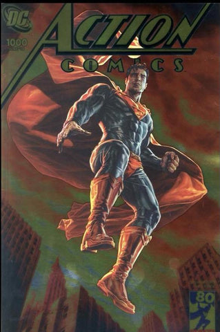 ACTION COMICS #1000 GOLD FOIL VAR ED