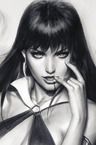 VAMPIRELLA #5 ARTGERM SNEAK PEEK VIRGIN CHARCOAL