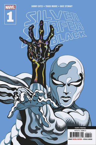 SILVER SURFER BLACK #1 (OF 5) 4TH PTG MOORE VAR