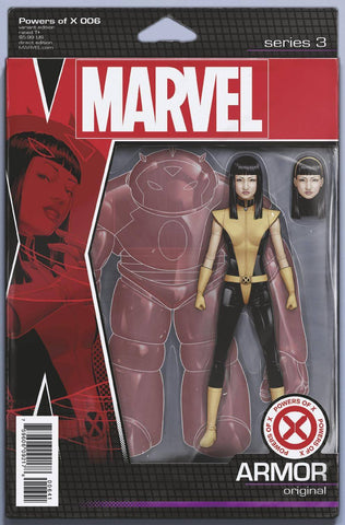 POWERS OF X #6 (OF 6) CHRISTOPHER ACTION FIGURE VAR
