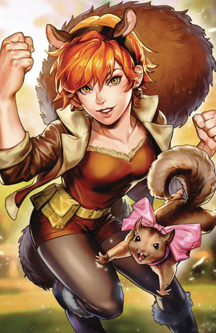 UNBEATABLE SQUIRREL GIRL #44 SUJIN JO MARVEL BATTLE LINES VA