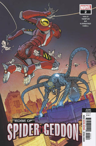 EDGE OF SPIDER-GEDDON #2 (OF 4) 2ND PTG ALBURQUERQUE VAR