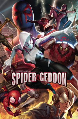 SPIDER-GEDDON #3 (OF 5) IN HYUK LEE CONNECTING VAR