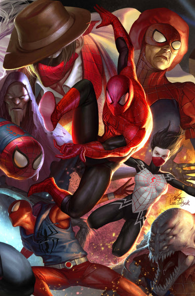 SPIDER-GEDDON #1 (OF 5) IN HYUK LEE CONNECTING VAR