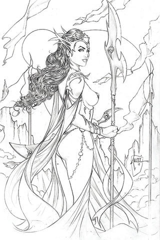 DEJAH THORIS (2019) #1 BILLY TUCCI PENCIL INCV