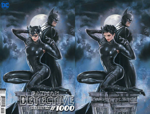 DETECTIVE COMICS #1000 NATALI SANDERS 2 PACK EXCLUSIVE