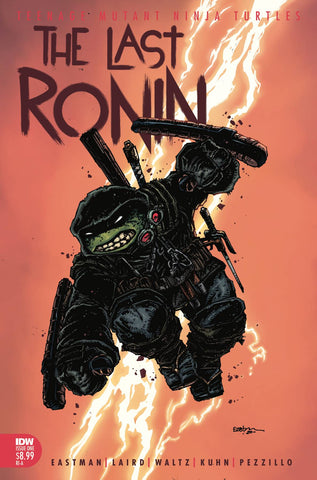 TEENAGE MUTANT NINJA TURTLES THE LAST RONIN #1 (OF 5) INCV EASTMAN TMNT