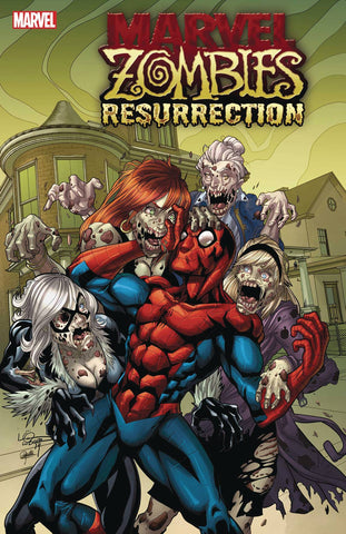 MARVEL ZOMBIES RESURRECTION #1 (OF 4) LUBERA VAR