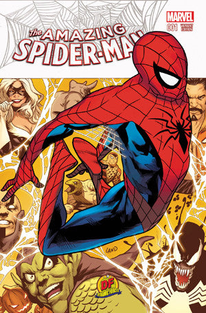 AMAZING SPIDER-MAN #1 DYNAMIC FORCES EXCLUSIVE