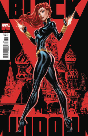 BLACK WIDOW #1 J SCOTT CAMPBELL VAR