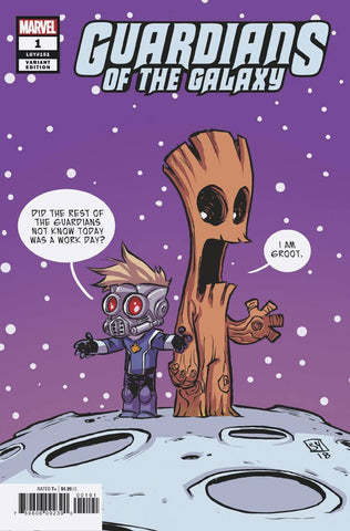 GUARDIANS OF THE GALAXY #1 YOUNG VAR