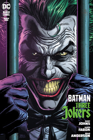BATMAN THREE JOKERS #2 (OF 3) JASON FABOK BEHIND BARS JOKER