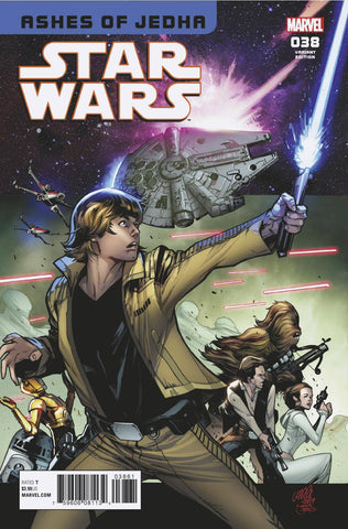 STAR WARS #38 LARRAZ HOMAGE VAR