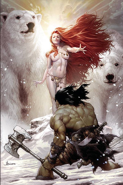 CIMMERIAN FROST GIANTS DAUGHTER #1 CVR C ANACLETO (MR)