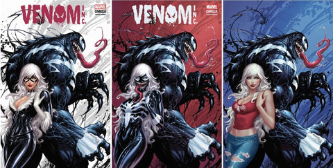 AMAZING SPIDER-MAN VENOM INC OMEGA #1 TYLER KIRKHAM 3 PACK EXCLUSIVE