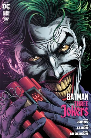 BATMAN THREE JOKERS #1 (OF 3) JASON FABOK BOMB VAR ED