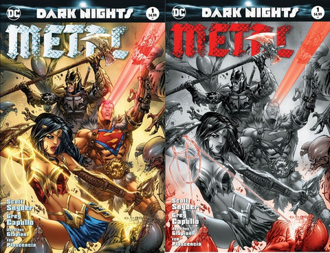 DARK NIGHTS METAL #1 (OF 6) EXCLUSIVE MOST GOOD EBAS 2 PACK VARIANT