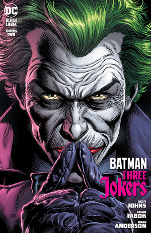 BATMAN THREE JOKERS #2 (OF 3) CVR A JASON FABOK JOKER