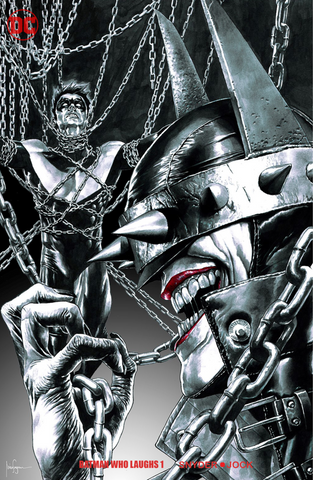 BATMAN WHO LAUGHS #1 (OF 6) UNKNOWN EXCLUSIVE MICO SUAYAN CVR B